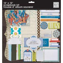 "Me & My Big Ideas Page Kit 12""X12"" My Grandchildren - SKT06"