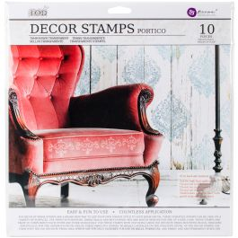 """Iron Orchid Designs Decor Clear Stamps 12""""X12"""" Portico - 815769"""