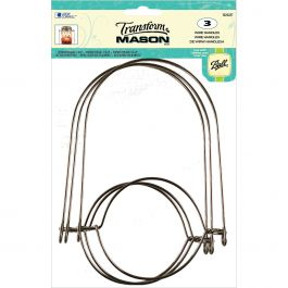 Transform Mason(R) Wire Handles 3/Pkg Silver - 1026287