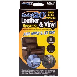 Restor It Quick 20 Leather & Vinyl Repair Kit  - 18081