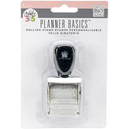 Happy Planner Rolling Stamp Rose Gold, 12 Titles - SMPR-03