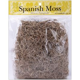 Spanish Moss 4Oz Natural - 21061
