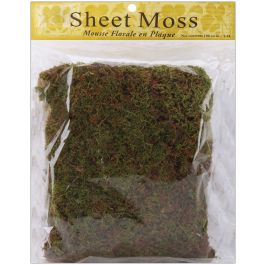 Spanish Sheet Moss 3Oz Natural - 21131