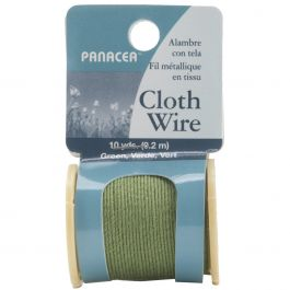 Cloth Covered Spool Wire 32 Gauge 30' Green - 600SW-60032