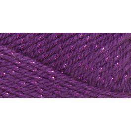 Caron Simply Soft Party Yarn Purple Sparkle - H97PAR-6