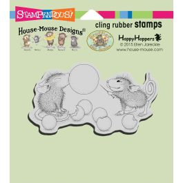 Stampendous House Mouse Cling Stamp Bubble Popper - HMCM21