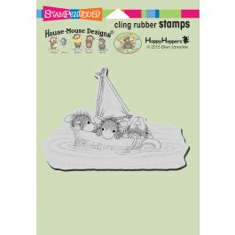 Stampendous House Mouse Cling Stamp Sail Cup - HMCP97