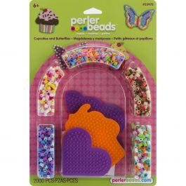 Perler Fused Bead Kit Cupcakes & Butterflies - 559-75