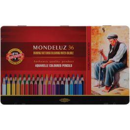 Mondeluz Aquarell Watercolor Pencils 36/Pkg          - FA372536