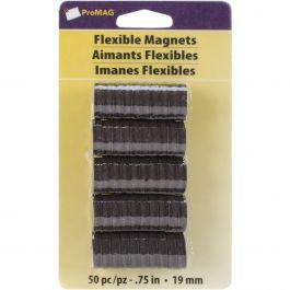"Promag Flexible Round Magnets .75"" 50/Pkg - 10075"
