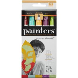 Elmer'S Painters (R) Opaque Paint Markers 5/Pkg Eastern Empire  Medium Point - OPM-7528