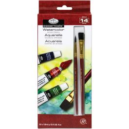 Essentials(Tm) Watercolor Paints 12Ml 12/Pkg Assorted Colors - WAT12