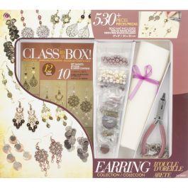 Jewelry Basics Class In A Box Kit Gold & Copper Earrings - JB34706-007