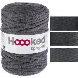 Hoooked Zpagetti Yarn Anthracite Gray  Dark Gray Shades - ZPAGETTI-1-22
