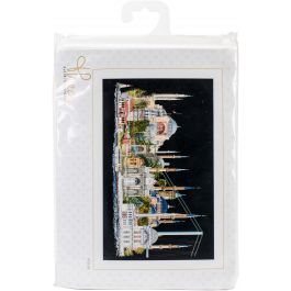 """Thea Gouverneur Counted Cross Stitch Kit 31""""X19.5"""" Istanbul On Aida (18 Count) - TG47905"""