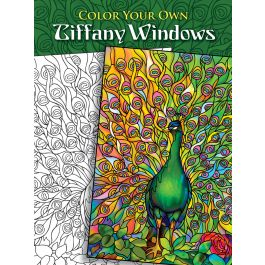 Dover Publications Color Your Own Tiffany Windows - DOV-46533