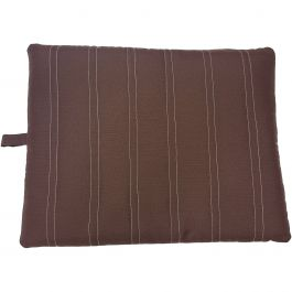 "Sleep Zone 37"" Durable Pet Bed Chocolate - 32856"
