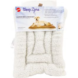 "Sleep Zone 18"" Fashion Bed & Crate Mat Caramel - 32865"