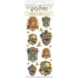 "Paper House Sticky Pix Faux Enamel Stickers 8""X3"" Harry Potter - STFE-0029"