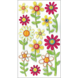 Jolee'S Le Grande Dimensional Stickers Large Daisies - E5050289