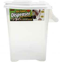 "Buddeez 16Qt ""Bag In"" Pet Food Dispenser Holds Up To 12Lbs  - B00083"