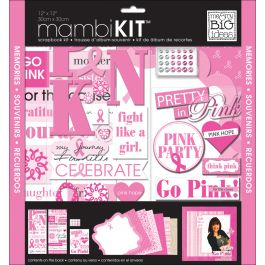"Me & My Big Ideas Page Kit 12""X12"" Pretty In Pink - SRK84"