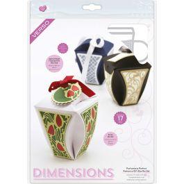 Tonic Studios Verso Dimensions Dies 17/Pkg-Parfumerie Perfect Romance Gift Box Set