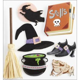 Jolee'S Boutique Dimensional Stickers Witches - E5020955