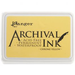 Ranger Archival Ink Pad #0 Chrome Yellow - AIP-30591