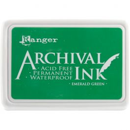 Ranger Archival Ink Pad #0 Emerald Green - AIP-30447