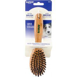 Safari Bristle Brush W/Bamboo Handle Small - W6444