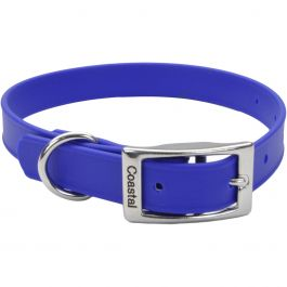 "Coastal 14"" Waterproof Dog Collar Blue - 04612B14"