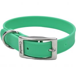 "Coastal 14"" Waterproof Dog Collar Green - 04612G14"