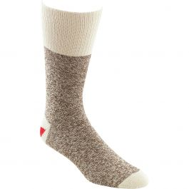 Fox River Red Heel Monkey Socks 2 Pairs Size 8 9 Brown Heather - 6851-2-MED