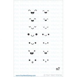 """Your Next Stamp Clear Stamps 2""""X4"""" Fun Faces 1 - CYNS098"""