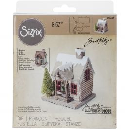 "Sizzix Bigz Die By Tim Holtz 5.5""X6"" Village Winter - 660988"
