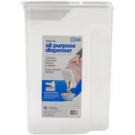 "Buddeez 8Qt Bag In All Purpose Dispenser 13.5""X9.75""X5.375"" - B00138"