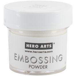 Hero Arts Embossing Powder White Satin Pearl - PW-PW118