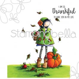 Stamping Bella Cling Stamps Fay Loves Fall - EB323