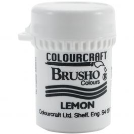 Brusho Crystal Colour 15G Lemon - BRB12-L