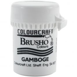 Brusho Crystal Colour 15G Gamboge - BRB12-GAM