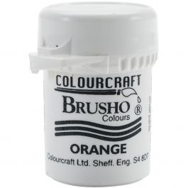 Brusho Crystal Colour 15G Orange - BRB12-O