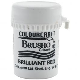 Brusho Crystal Colour 15G Brilliant Red - BRB12-BR