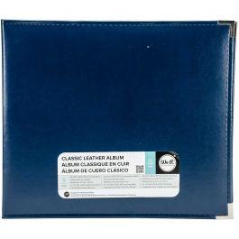 """We R Classic Leather D Ring Album 12""""X12"""" Cobalt - WRRING12-60913"""