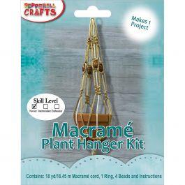 Macrame Plant Hanger Kit  - MAC158