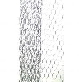 """Galvanized Chicken Wire Net 18""""X39""""  - 6614-100"""
