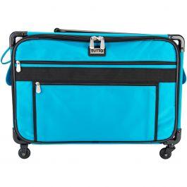 """Tutto Machine On Wheels Case 23""""X14.25""""X14"""" Turquoise - 9224XL-TUR"""