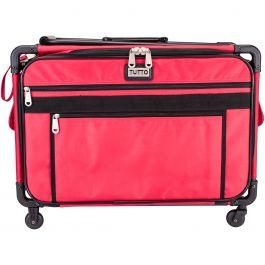 """Tutto Machine On Wheels Case 23""""X14.25""""X14"""" Red - 9224XL-RED"""