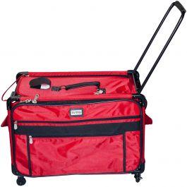 """Tutto Machine On Wheels Case 27""""X16.25""""X14"""" Red - 9228XXL-RED"""