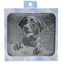 Memory Stone W/Photo Frame Small Gray - PMSF